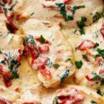 Creamy Tuscan Garlic Chicken, No Explosions Necessary!